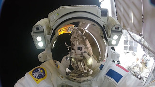 Download Gopro Video: Action Cam Footage from U S Spacewalk #40 Video