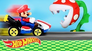 Download It's-a Me, A MARIO KART HOT WHEELS PARTY!   Hot Wheels Video