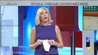 Download L'aria che tira - Renzi parla di Landini che scende in politica (Puntata 23/02/2015) Video