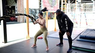 Download I Worked Out w/ Khloe Kardashian's 'Revenge Body' Trainer... Video