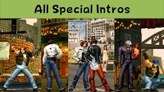 Download The King Of Fighters - All Special Intros ('96 - 2003) Video