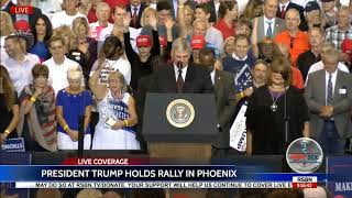 Download Rev. Franklin Graham AMAZING Prayer for Unity at President Trump Rally in Phoenix Video