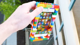 Download Can LEGO Protect an iPhone 6S from 100 FT Drop Test? Video