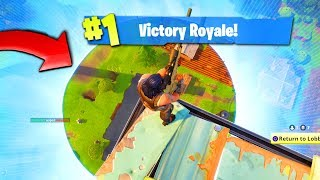 Download The BEST way to WIN a game of FORTNITE: Battle Royale! Video