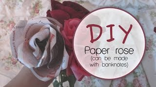 Download DIY: Paper/Banknote rose Video
