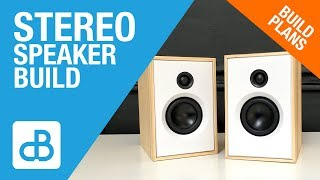 Download Small 2-Way Stereo SPEAKER BUILD - by SoundBlab Video