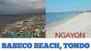 Download MALAKING PAGBABAGO SA BASECO BEACH, TONDO (NOON AT NGAYON) Video