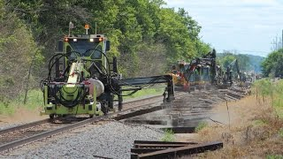 Download CSX Replacing Railroad Ties on the CE&D sub Video
