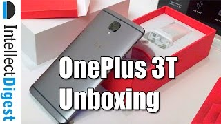 Download OnePlus 3T India Unboxing- What Is New In OnePlus 3T VS OnePlus 3? | Intellect Digest Video