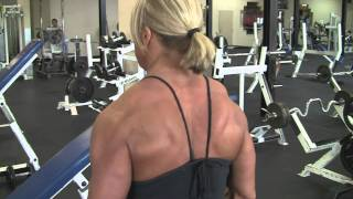 Download Julie Bourassa, canadian bodybuilder, june 2010, training/posing 3 week-out Video