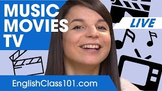 Download How to Talk about Music, Movies & TV? - Basic English Phrases Video