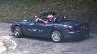 Download 2x CRAZY Mazda MX-5 Miata NB Hillclimb Mountain Touge Drift! ドリフト 峠 Video