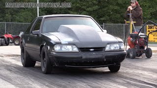 Download SMALL BLOCK CHEVY POWERED MUSTANG ON NITROUS Video