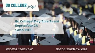Download Go College! Day Live Event w/ Filmmakers & Cast Video