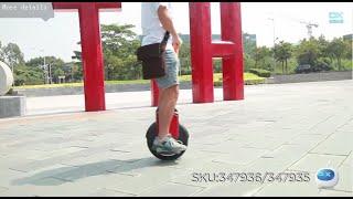 Download Widespread Vehicle! EYU.CO V1 Electric Balancing Unicycle Wheelbarrow Monocycle Video