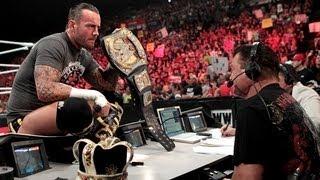 Download Big Show interrupts CM Punk - Raw, July 30, 2012 Video