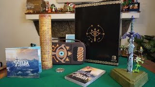 Download Unboxing Master Edition The Legend of Zelda: Breath of The Wild (Nintendo Switch) Video