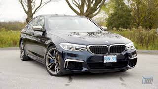 Download The 2018 BMW M550i is Dr. Jeckyll and Mr. Hyde, in a Good Way Video