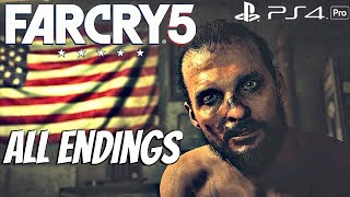 Download FARCRY 5 - ALL ENDINGS (All 3 Endings) Bad, Good, Nuclear [1080P 60FPS] Video