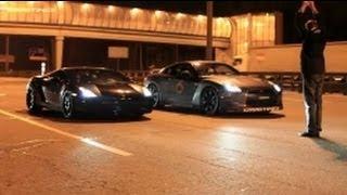 Download Lamborghini Gallardo UR TT vs Nissan GTR AMS Alpha 12 (360 km/h) (224 MPH) Video