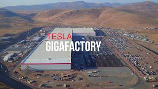 Download TESLA GIGAFACTORY August 2017 Aerial Construction Update Video