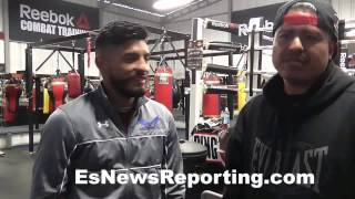 Download Abner Mares & Robert Garcia on Rios vs Ortiz; Garcia vs Thurman and more - EsNews Boxing Video