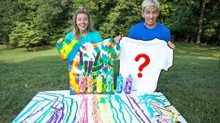 Download 3 COLOR TIE DYE CHALLENGE WITH MY SISTER!! Video