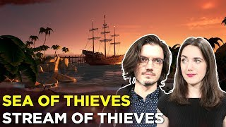 Download SEA OF THIEVES — 4 HOURS OF GAMEPLAY! Sloopin' It Up With Pat & Simone Video