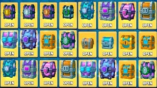 Download OPENING EVERY CHEST IN CLASH ROYALE - ALL CHEST OPENING + DRAFT CHEST Video