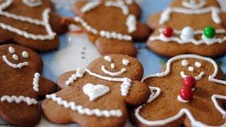 Download Gingerbread Men & Women Cookie Recipe - How To Make Gingerbread Cookies Video