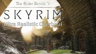 Download Skyrim – Ultra Realistic Overhaul Mod Collection vs. Vanilla Comparison [WQHD] Video