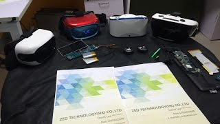 Download $45 ZED VR all-in-1 headset on RK3126 with 5'' HD display 1GB 8GB Video