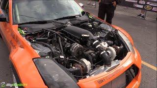 Download 1100hp TT LSx 350z Goes DRAG and DRIFT! Video