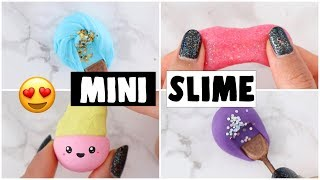 Download MAKING 4 AMAZING DIY NO GLUE SLIMES - Viral Mini Slime Recipes Tested! Video