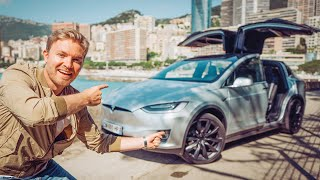 Download THE CRAZIEST TESLA MODEL X FEATURES (PARTY MODE, MARS MAP ETC...) | NICO ROSBERG | eVLOG Video
