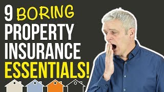 Download Property Insurance or Home Insurance Essentials For Buy To Let UK Property Investors   Landlord Tips Video