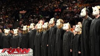 Download Bray Wyatt and a children's choir serenade John Cena: Raw, April 28, 2014 Video