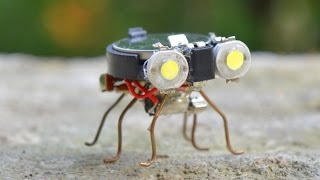 Download How to make a Robot - Tiny Bug Robot at Home Video