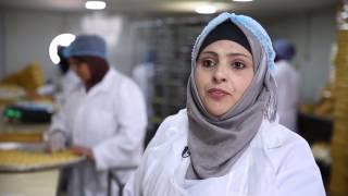 Download Les femmes syriennes et jordaniennes rencontrent un succès dans un projet en Jordanie Video