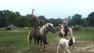 Download DELACRUZ BOYS ARE ROPING GOATS ON PONIES Video
