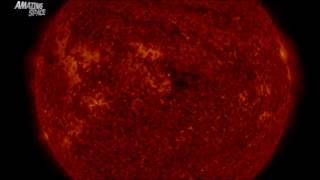 Download Soothing Sun : Incredible time lapse video of the sun created from images taken by NASA SDO Video