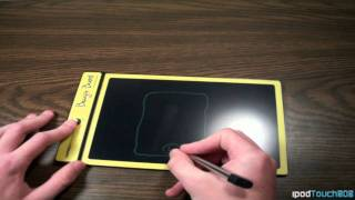 Download Boogie Board LCD Writing Tablet Review and Showcasing Video