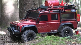Download Завоеватель рынка трофи? ... Тест-драйв Land Rover Defender TRX-4 Video