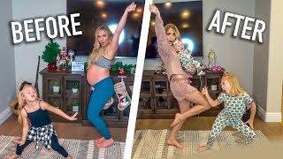 Download LaBrant Family Baby Mama Dance With Baby Posie!!! (Before And After) Video