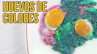 Download Cómo hacer HUEVOS FRITOS de COLORES (Experimentos Caseros) Video