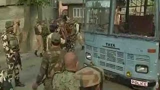 Download J&K: CRPF convoy attacked in Pampore, five jawans martyred & two militants killed Video