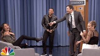 Download Charades with Chelsea Handler, John Legend and Chrissy Teigen Video