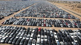 Download Millions of Cars Are Rotting in the Open Air! Video