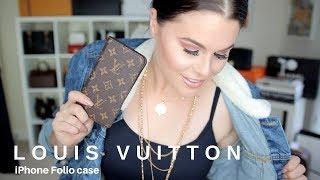 Download LOUIS VUITTON IPHONE FOLIO CASE | Jerusha Couture Video