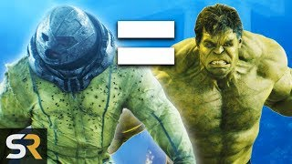 Download 10 Live Action Movie Characters As Strong As Marvel's Hulk Video